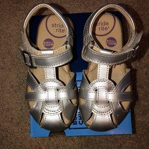 Stride Rite memory foam sandals